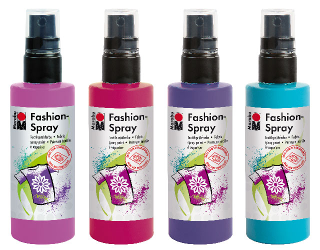 Fashion-Spray für helle Textilien